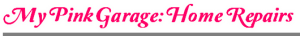 My Pink Garage - General Text Featuring Gray Line